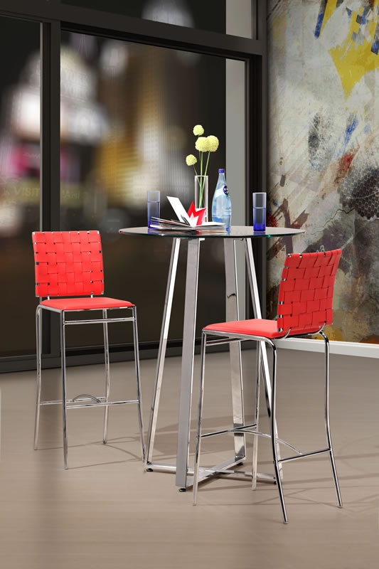 bar and counter stools zuo criss cross barstool