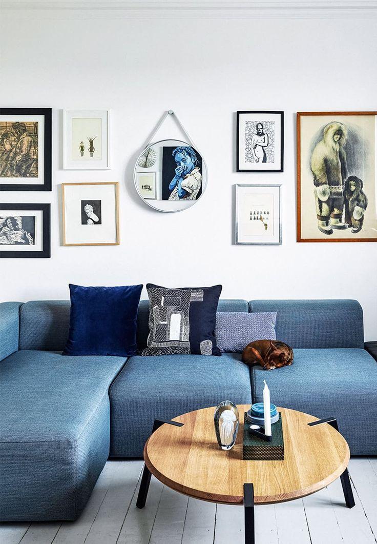 Gallery wall inspiration via @tuliprim