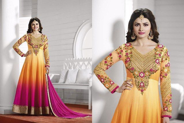Pakistani Bollywood Kameez Indian Dress Anarkali Designer Salwar Suit Ethnic…