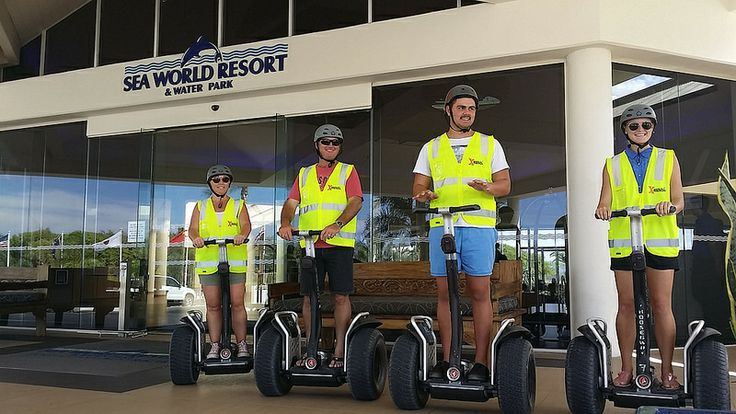 Segway Tours with Sea World Resort and Waterpark! The Southport Spit, Gold Coast.