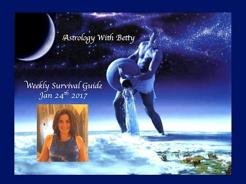 Astrology Weekly Survival Guide New Moon in Aquarius 1/24 - 2/2 https://www.youtube.com/watch?v=nE6bHtK7kGY #Astrology #astrologer #tarot