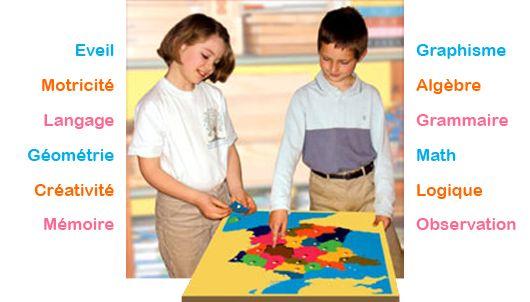 le site officiel d'Oppa-Montessori: outils pour une pédagogie personnalisée et active