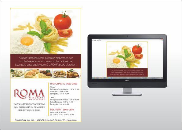 Desenvolvimento de Email Marketing para restaurante