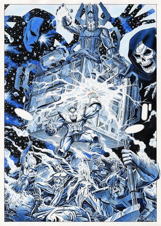 Giorgio Comolo - Cosmic Comic Art