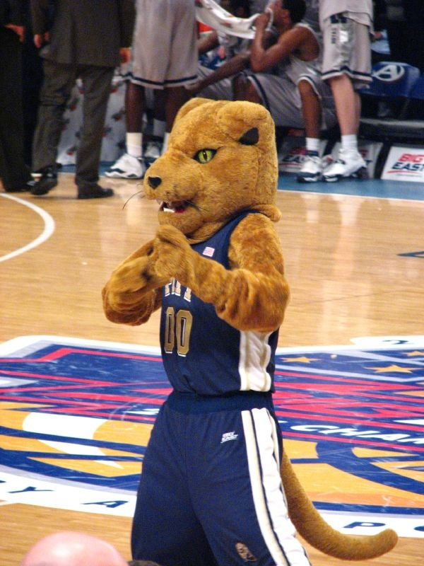Roc the Panther, University of Pittsburgh mascot.