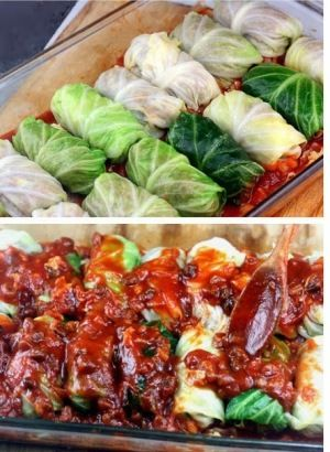 Would give asian cabbage rolls didn't see any