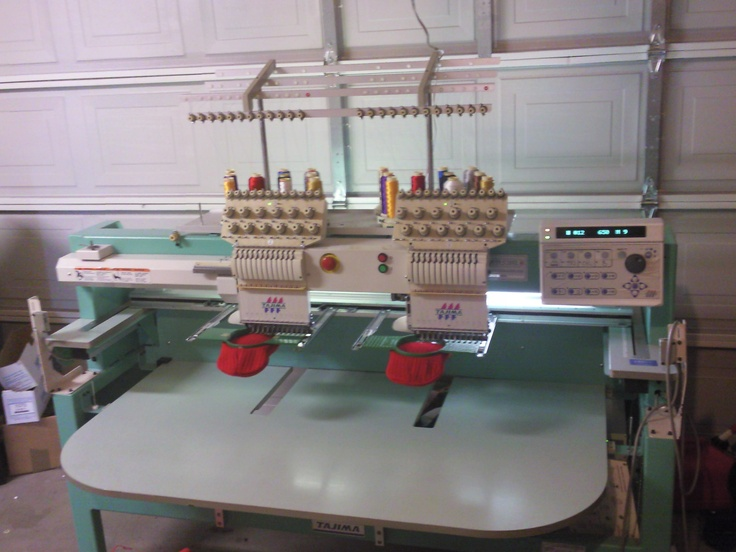 tashiba 2 head embroidery machine | Head Tajima Embroidery Machine-photo1085.jpg