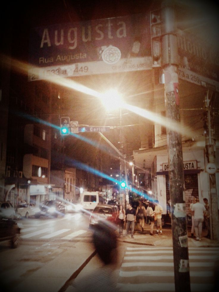Rua Augusta em São Paulo, SP