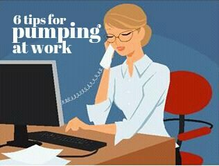 Six Tips for Pumping Breastmilk at Work