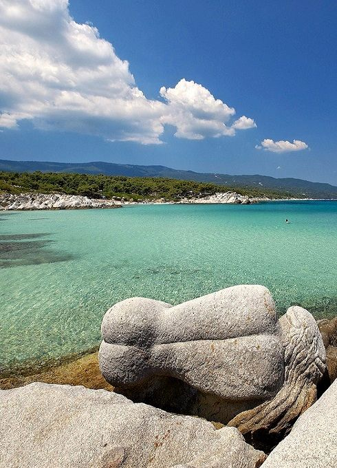 Kavourotripes beach - Sithonia, Halkidiki, Greece | Flickr - Photo by Visit Greece