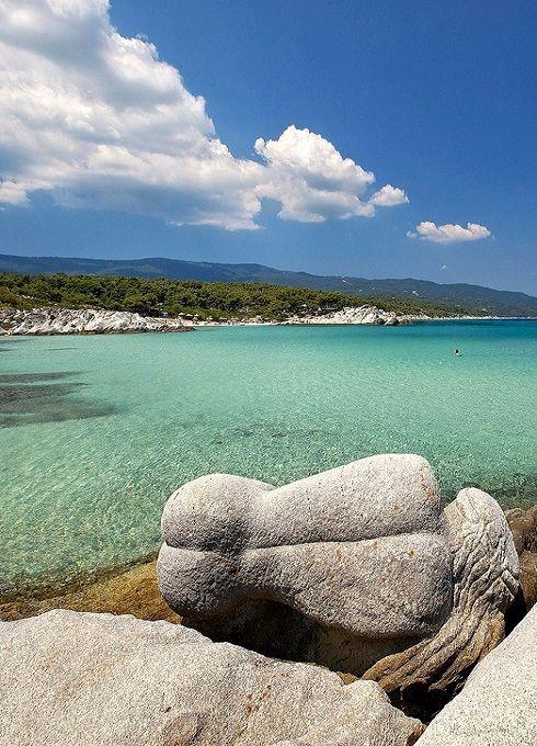 Kavourotripes beach - Sithonia, Halkidiki, Greece | Flickr - Photo by Visit Greece