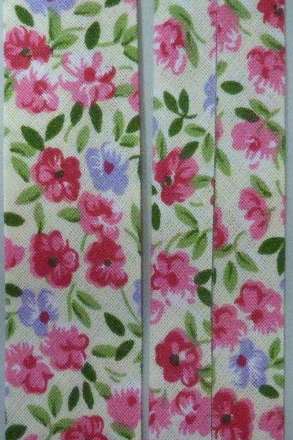 Mönstrad snedslå | Bibbis Textil