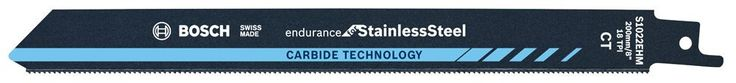 Bosch 2608653098Reciprocating Saw Blade S 1022EHM Endurance For Stainless Steel