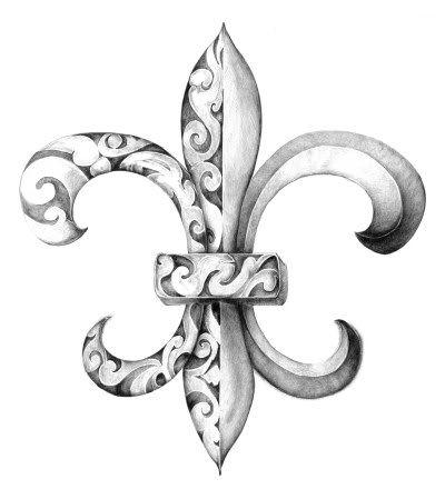 fleur de lis tattoo | Thread: Looking for a new tattoo sketch?