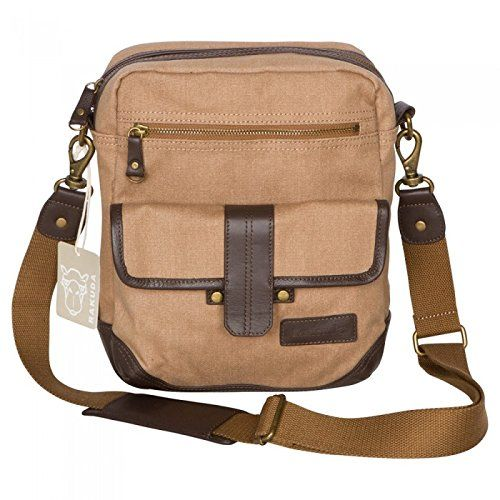 Rakuda Satchel Cross Body Sling Canvas Bag -- Discover this special product, click the image : Backpacking gear
