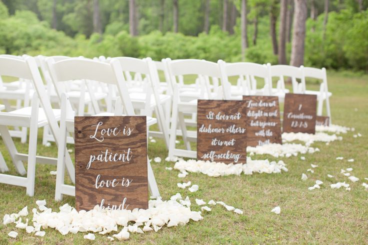 Rustic Church Wedding Decorations