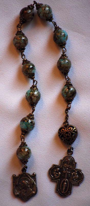 Antique Rosary by AllToolsPrayerful on Etsy