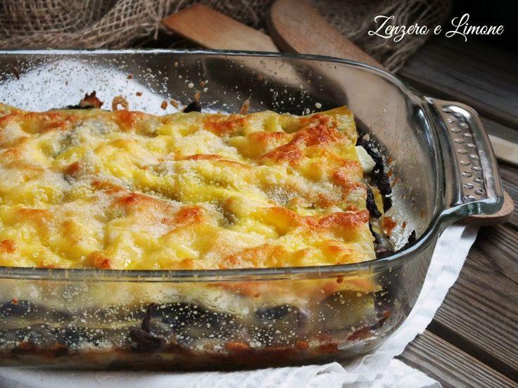 Lasagne+al+radicchio+e+formaggio