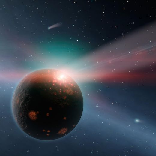 Late Heavy Bombardment: construction in the destruction? Comet and asteroid barrage may have given Martian life a leg-up  Where Earth nurtured life, Mars (as far as we know) has not. But a seemingly destructive event some four billion years ago may have given Martian life the boost it needed.