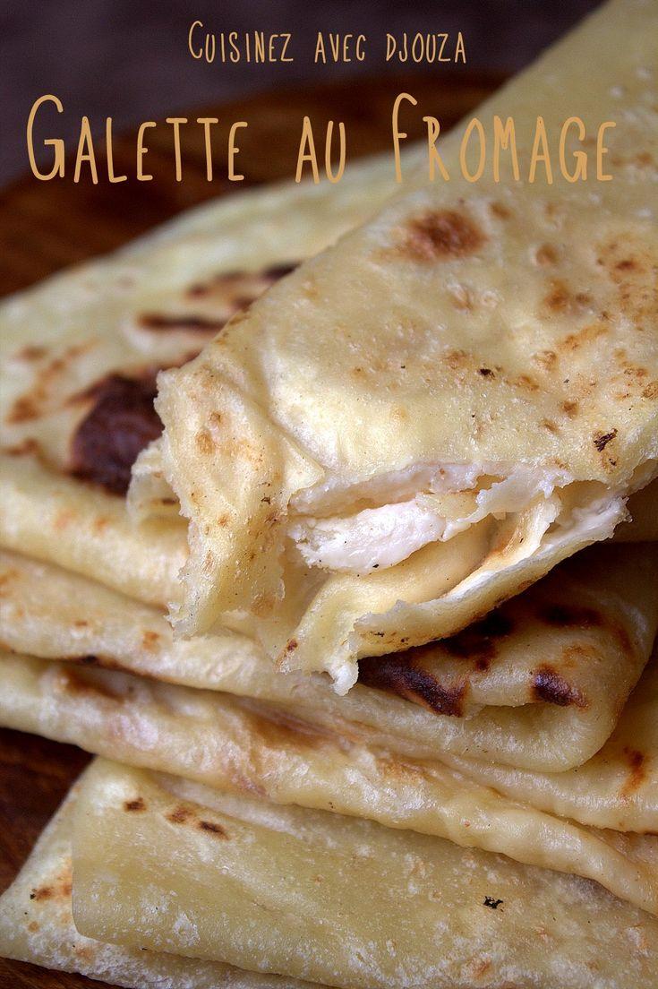 Crêpes ou galettes algériennes au fromage