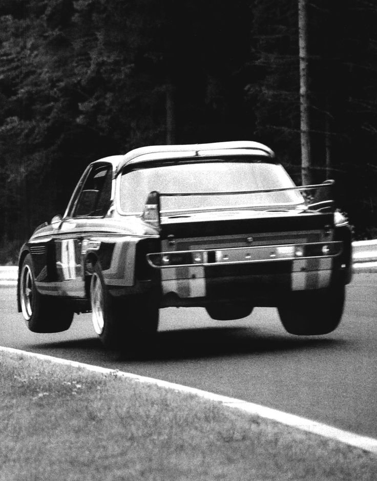 """Of course I like the Nurburgring. Not only for the racing, but the whole affair. It demands the most from a driver, Hans-Joachim Stuck in 1977."