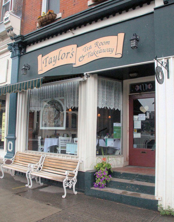 Taylor's Tea Room...High Tea In Dundas
