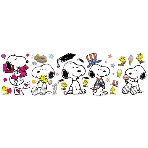 """Met Life Quotes 2: Spring/Summer """"Snoopy Pose"""" Bulletin Board. Contains"""