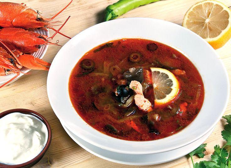 Сборная рыбная солянка от www.dunduk-culinar.ru