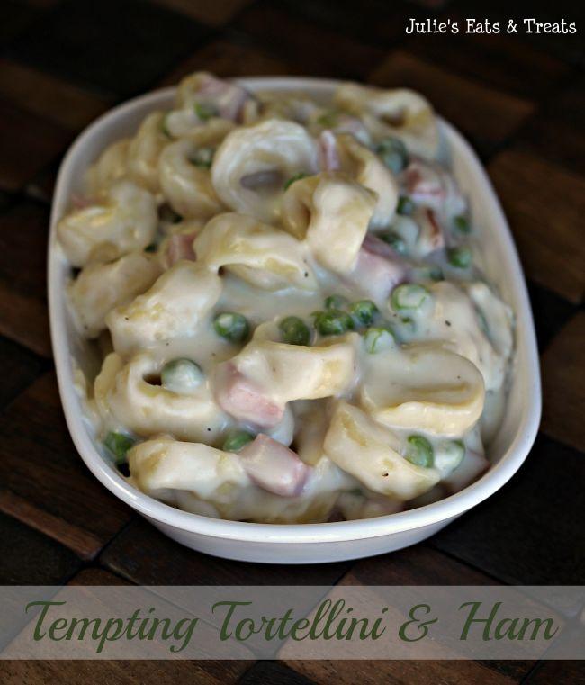 Tempting Tortellini via www.julieseatsandtreats.com #recipe #pasta
