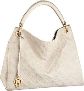 Great bag for any occasion. The color is just the right airy white.