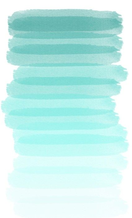 Blue Wash - great idea for a canvas painting