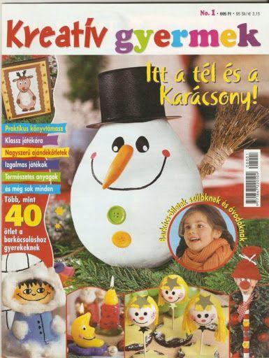 Kreatív gyermek No.1 - Itt a tél és a karácsony! - Muscaria Amanita - Picasa Webalbumok
