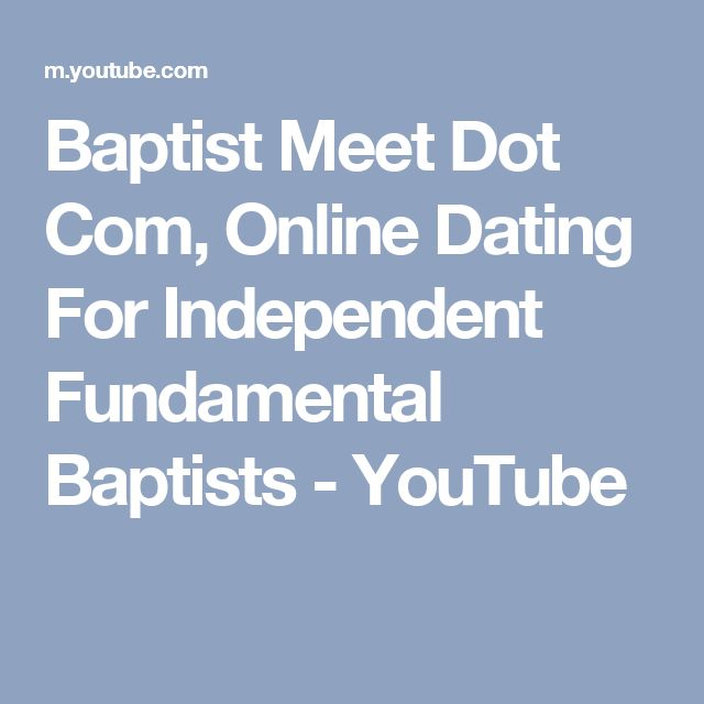 BAPTIST DATING