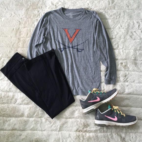 University of Virginia grey long sleeve Help represent the University of Virginia by sporting your own comfy long sleeve. Tops