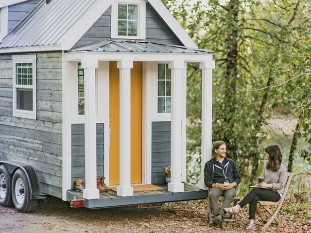peek inside the tiniest luxury home on wheels tiny house - Tiny Houses Builders