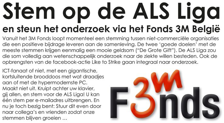 Stem in het Nederlands: http://solutions.3mbelgie.be/wps/portal/3M/nl_BE/Kijk3M/look3M/fonds/grotegift/genomineerdenBE/stemmen/?NominationId=316