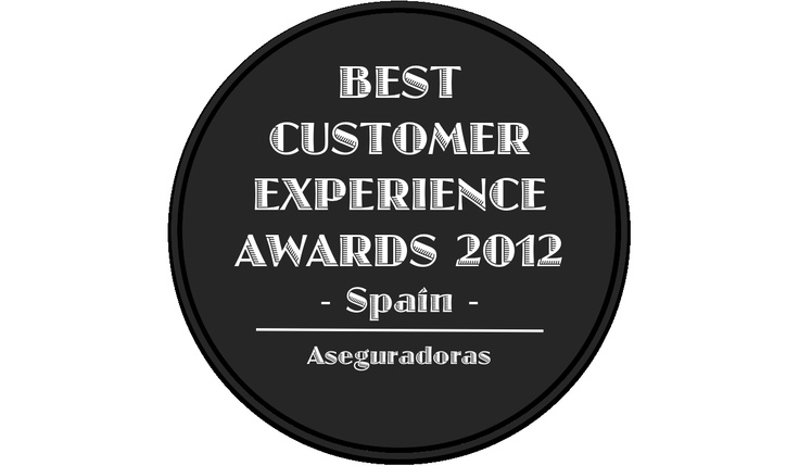 Best Customer Experience Awards, Spain 2012, Categoria, Aseguradoras