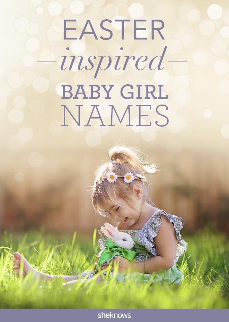 Spring Baby Names: Too-cute-for-words Baby Girl Names Inspired By Easter