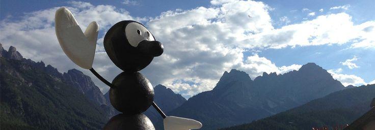 La nostra formicona ai piedi delle Dolomiti #formica #dolomiti