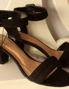 czarne nowe letnie sandały F&F rozm 38   Cena: 45,00 zł  #czarne #sandaly #lato #nowe #wygodne #wakacje