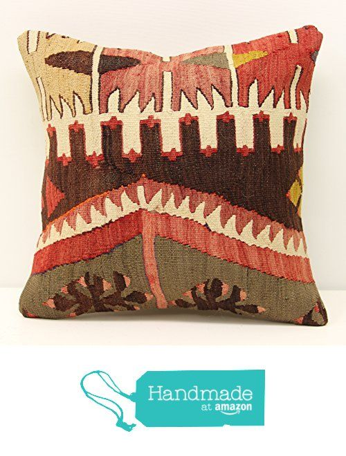 Modern kilim pillow cover 14x14 Feet ( 35x35 cm) Bohemian Kilim pillow cover Turkish Kilim Pillow Cover Home Decor Kilim Cushion Cover https://www.amazon.com/dp/B01N0VM8ZU/ref=hnd_sw_r_pi_dp_gaszybCZY2XMS #handmadeatamazon