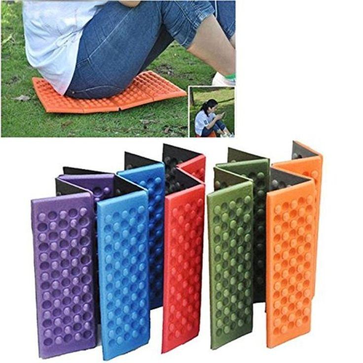 6 Colors Foldable EVA Hiking Camping Mat Portable Waterproof Outdoor Portable Picnic Mat Pad Durable Sports Folding Seat Chair