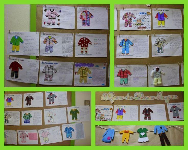 PAIS - Enfeitar o pijama e escrever uma carta especial para os filhos