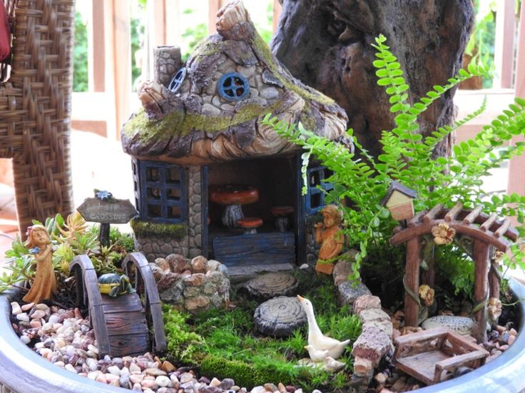 106 best Fairy Gardens images on Pinterest