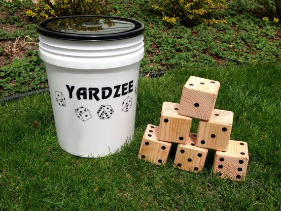 Yardzee & Farkle giant yard game handmade by by TumblingTimbers