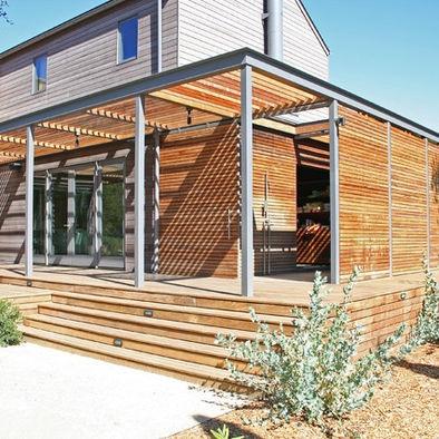 Wood steel trellis design pergola arbors pinterest for Steel and wood pergola