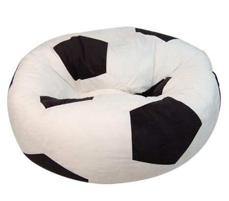 Micro Suede Soccer Ball Bean Bag $26.95