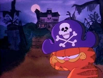 Garfield's Halloween Adventure on The United States of Becky
