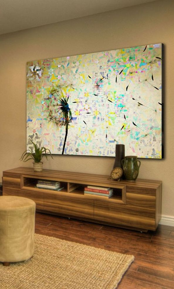 Dandy canvas + modern console furniture | interior design