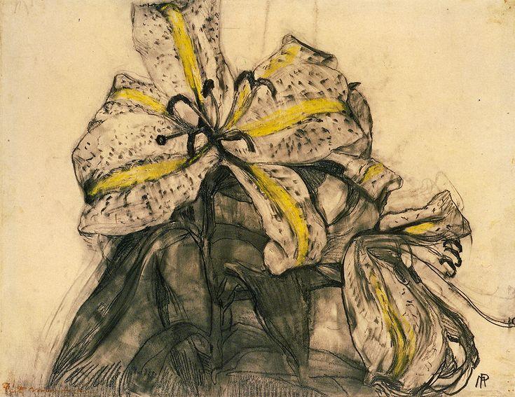 Piet Mondrian, Tiger Lily 1909-1910